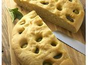 Focaccia sauge olives vertes
