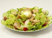 Salade juin jardin