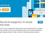 Panorama dernières offres publicitaires Twitter