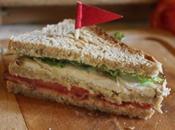 Sandwichs club (presque) traditionnels