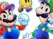 Mario Luigi Dream Team Bros. Artworks jaquette