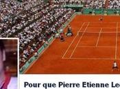Roland-Garros 2013 commentateur ''fou'' Pierre-Etienne Léonard rappelé l'ordre