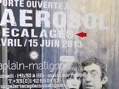 Aerosol expose pour Nocturne Rive Droite Galerie Caplain-Matignon