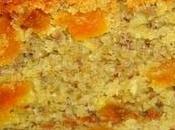 Cake noisettes, abricots miel