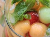 ~Boisson pétillante billes melon~