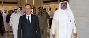 Grosse colère Qatar François Hollande pétard