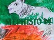 """""""Deux Loups Blancs"""" dessin papier Mephisto."""