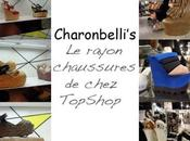 rayon chaussures chez TopShop