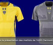 Couac dans présentation maillots l'ASM Clermont Auvergne 2013-2014