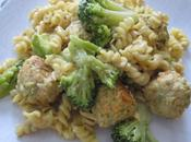 Pâtes saumon brocolis