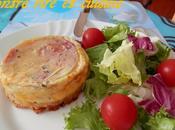 Croques-quiches Bacon/Boursin®