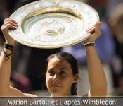 Retour Marion Bartoli victoire Wimbledon