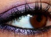 [Tuto photos] make-up rapide dans tons violets