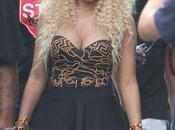 PHOTO Nicki Minaj tournage clip ''Love More'' Chris Brown
