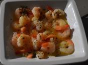 Petites crevettes marinées pour l'apéro