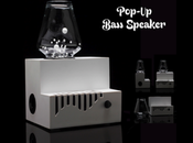 HIGH-TECH 'Pop-Up Bass,' Animated Subwoofer