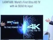 2013 Panasonic lance TX-L65WT600 avec HDMI Display Port 1.2a