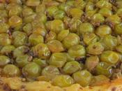 Tarte tatin mirabelles éclats pistaches