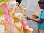 Ganesh Chathurti, fête l'honneur Dieu éléphant
