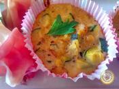 Flans courgettes crevettes grises