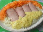 Roulades jambon halal