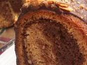 Marble gâteau chocolat