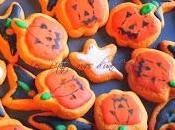 sablés d'Halloween l'orange