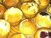 Muffins myrtilles farine maïs