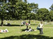 Kensington gardens Hyde park
