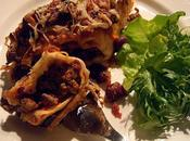 Enchiladas Gratin wraps, boeuf haricots rouges