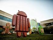 Android kitkat plus compatibilité