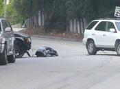 David Beckham victime d'un accident voiture avec fils Brooklynn