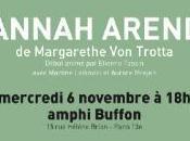 CinéDiderot vous présente Hannah Arendt, novembre 2013