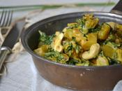 Curry chou kale pommes terre noix cajou