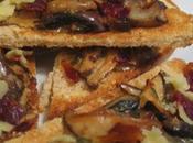 Tartines prosciutto champignons sauvages