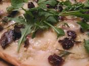 Pizza blanche forestière