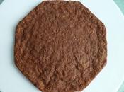 gâteau diététique hyperprotéiné amande pomme chocolat avec chia blanc, psyllium, muesli (sans oeuf sucre beurre)