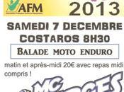 Balade moto Téléthon Moto Club Barges (43) décembre
