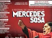 Trois jours d'hommage Mercedes Sosa Buenos Aires l'affiche]