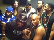 Tribe Called Quest invite Busta scène Barclay's