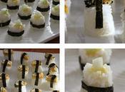 Tamago Nigiri! Sushis Omelette!