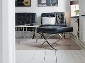 mobilier vintage… noir blanc, décoration tout douceur…