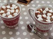 Chocolat chaud l'ancienne petits marshmallows Traditional chocolate