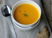 Soupe carotte l'orange citronnelle