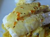 Eglefin sauce clémentine endives confites passion