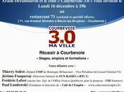 """Débat """"Courbevoie 3.0"""" Lundi décembre Réussir Courbevoie Emplois, stages formations"""