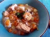 Soupe poissons norvégienne