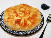 Pastilla pâté foie canard, champignons pommes