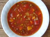 Soupe légumes goût d'autrefois