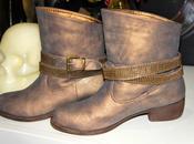 Boots Bronze petit prix Modeuse